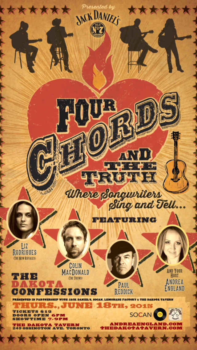061815 Four Chords The Truth 1st Confessions Andrea England