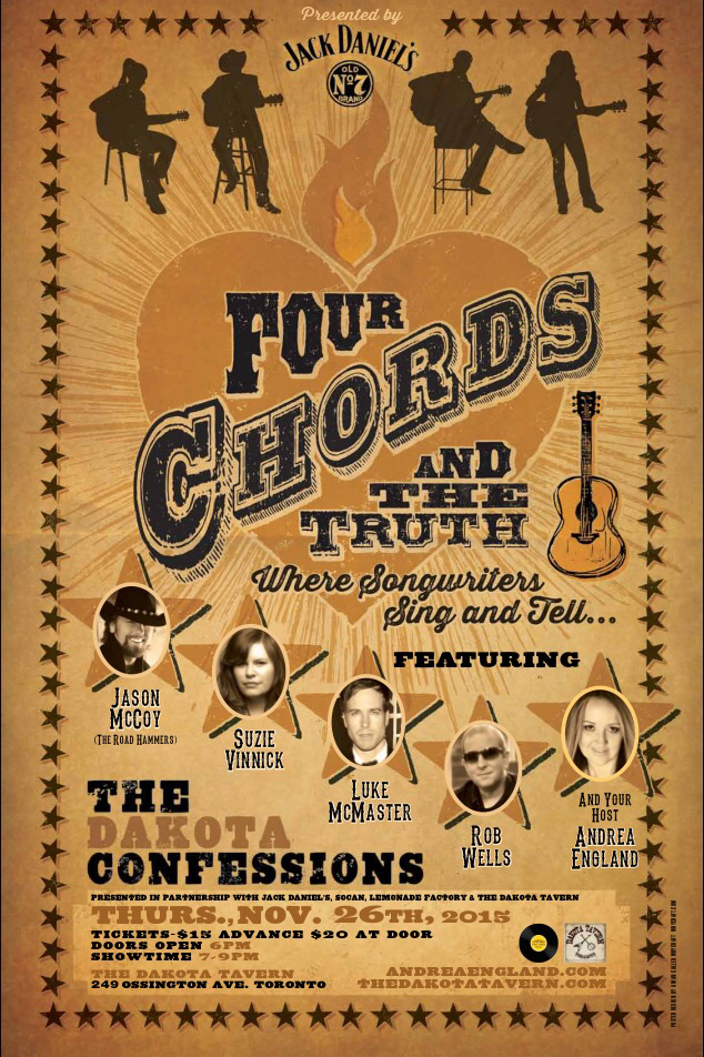 112615 Four Chords The Truth 3rd Confessions Andrea England
